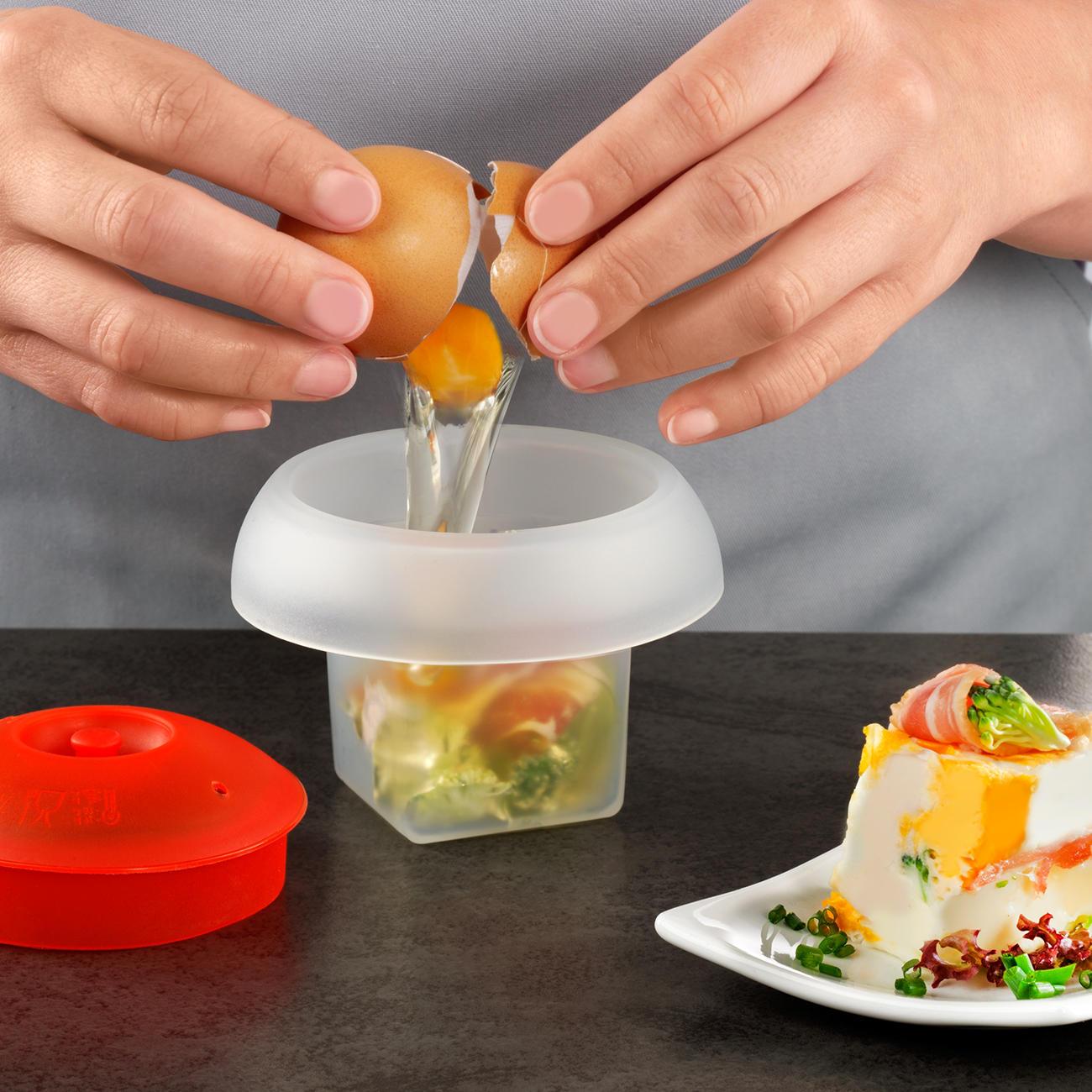 Frühstücksei in der mikrowelle