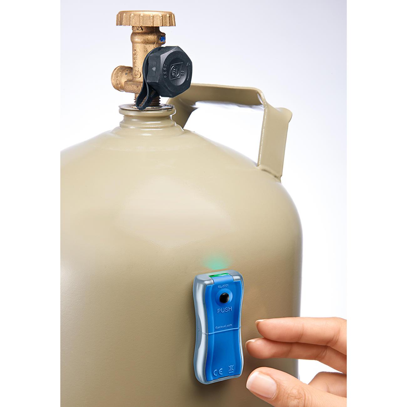 Gasflasche Inhalt Prüfen