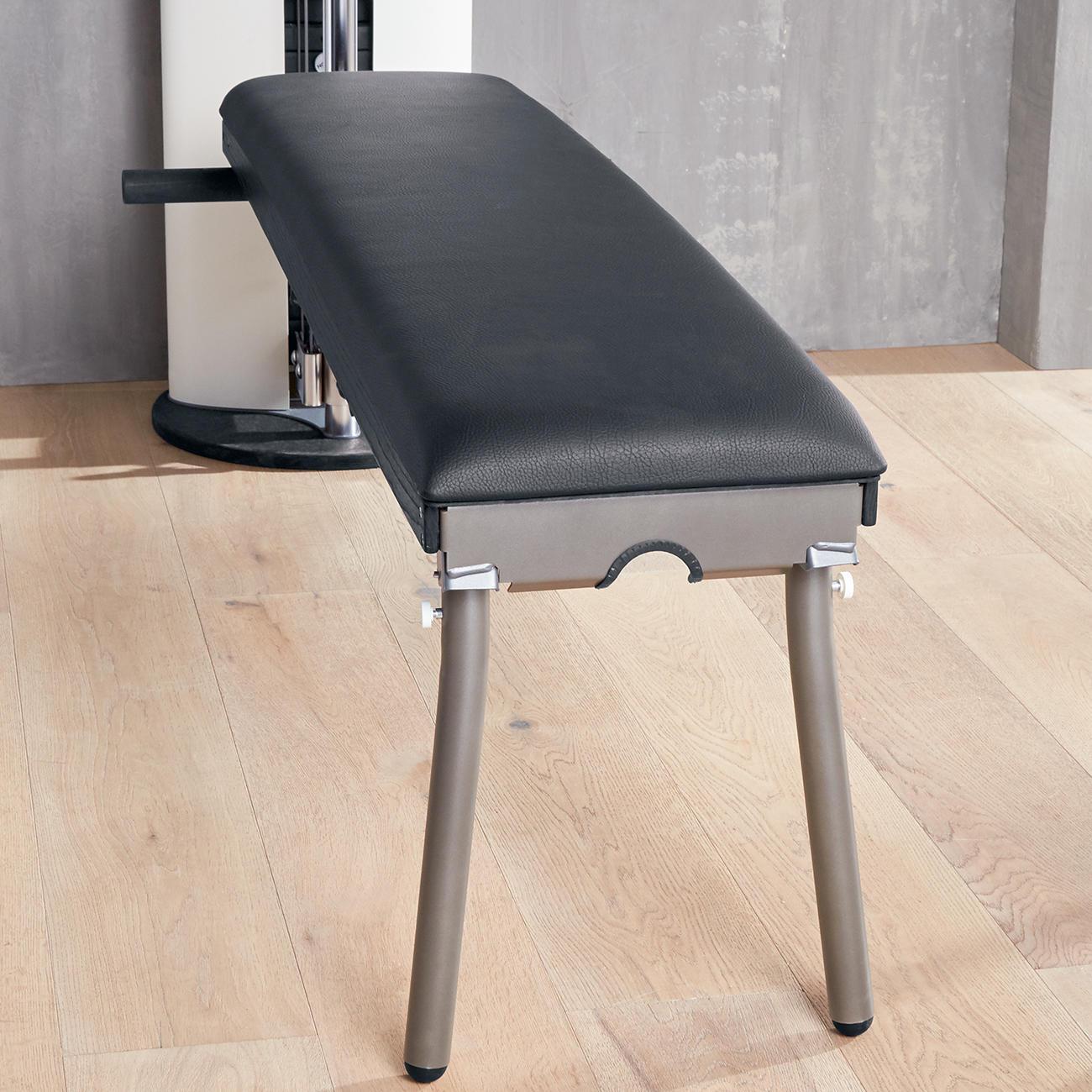 nohr d slim beam seilzugstation hometrainer weiss kaufen. Black Bedroom Furniture Sets. Home Design Ideas