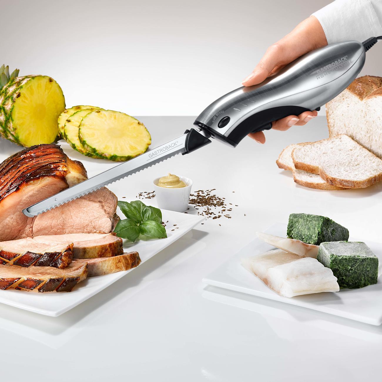 gastroback electric knife home culture elektromesser mit. Black Bedroom Furniture Sets. Home Design Ideas
