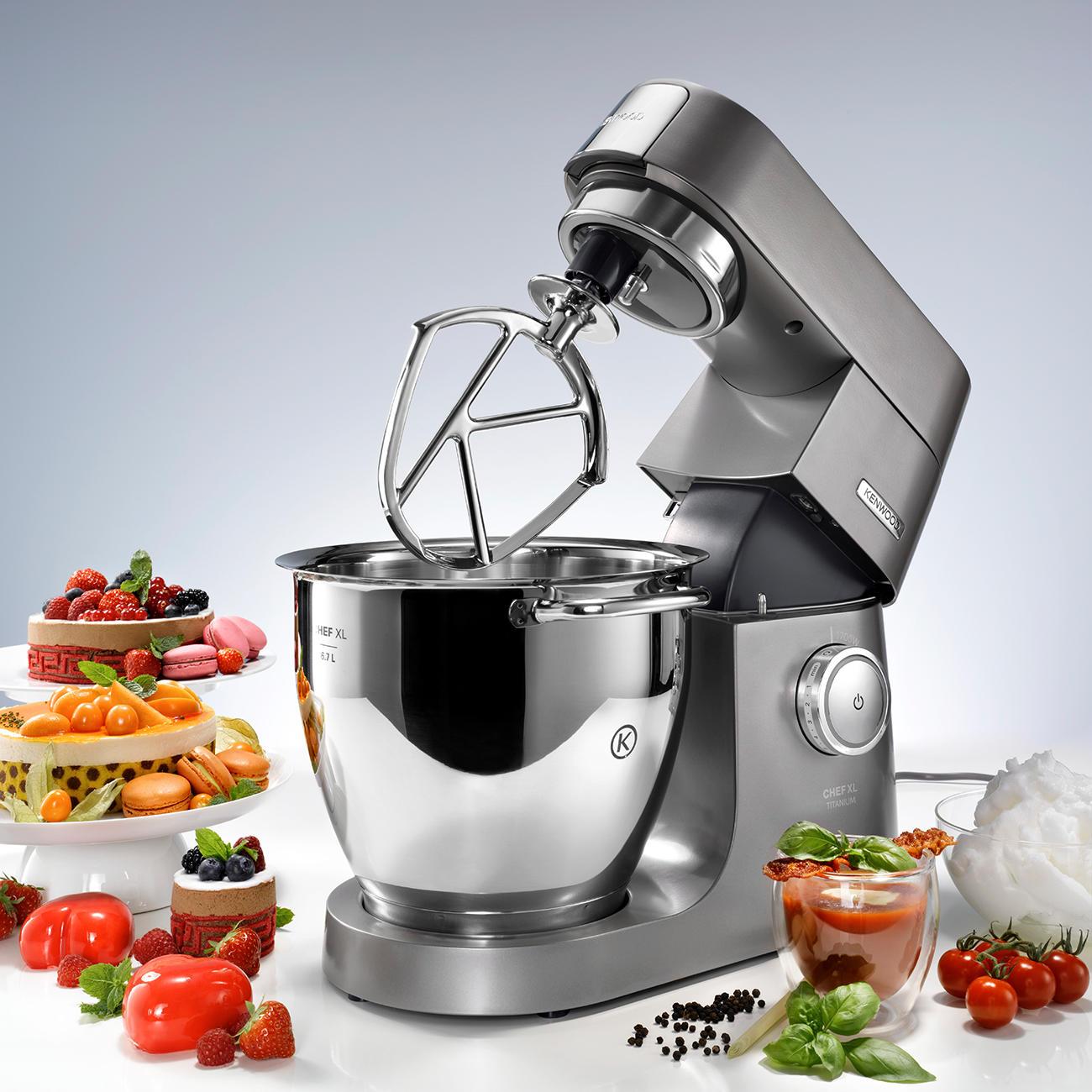 Kenwood Kuchenmaschine Chef Xl Titanium 6 7 L Schussel Inkl