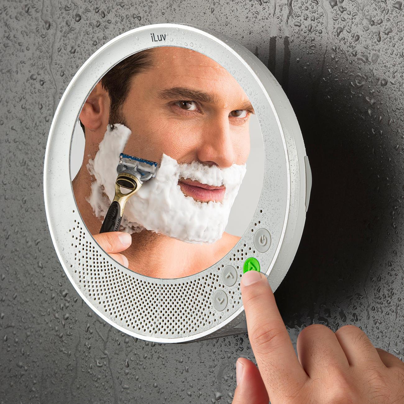 acheter Iluv Wasserdichter Bluetooth Spiegel Antifog