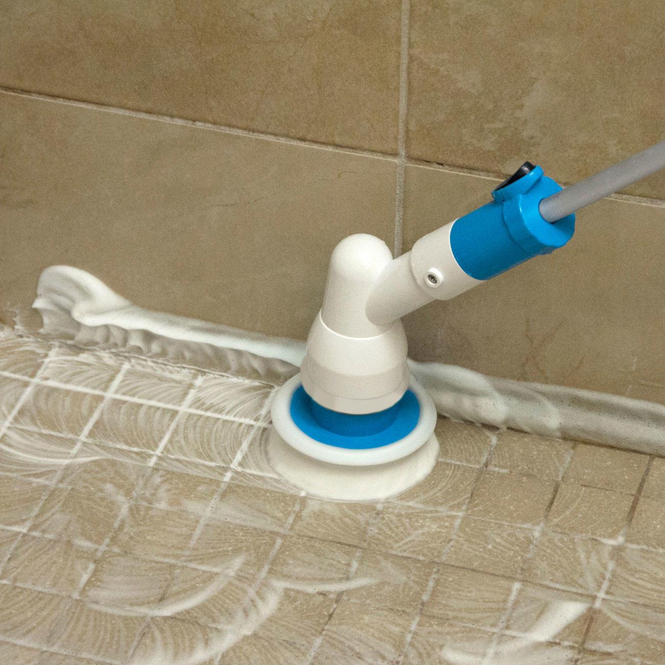 hurricane spin scrubber reinigungsb rste elektrisch. Black Bedroom Furniture Sets. Home Design Ideas