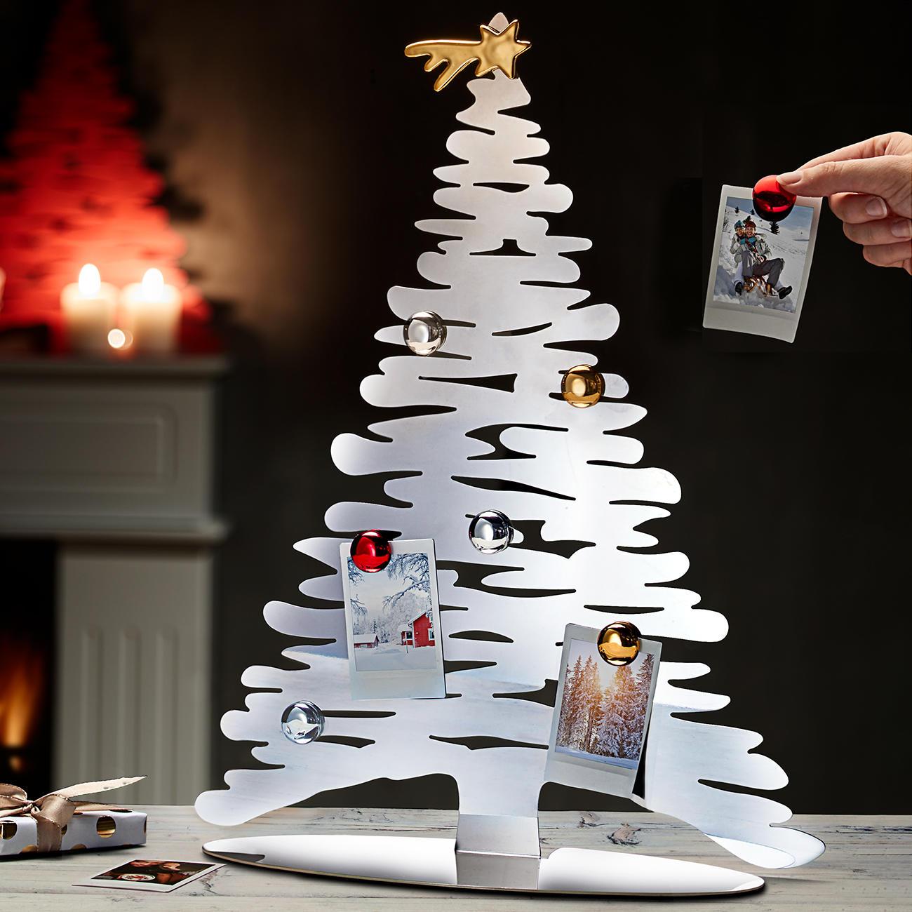 Designer Weihnachtsbaum Rot Lackiert 30 Cm Alessi 6
