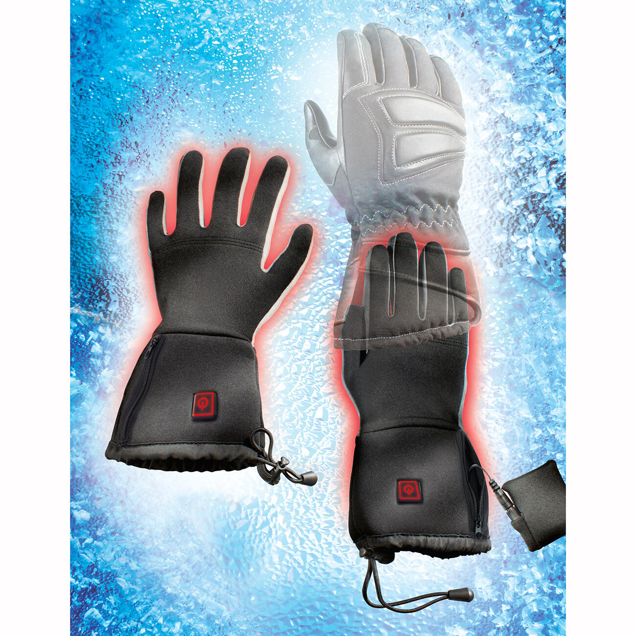 thermo gloves beheizbare unterziehhandschuhe s m kaufen. Black Bedroom Furniture Sets. Home Design Ideas