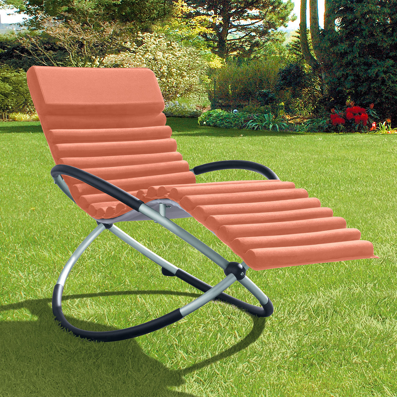 Double rocking chair doppel schaukelstuhl online kaufen for Kunststoff schaukelstuhl
