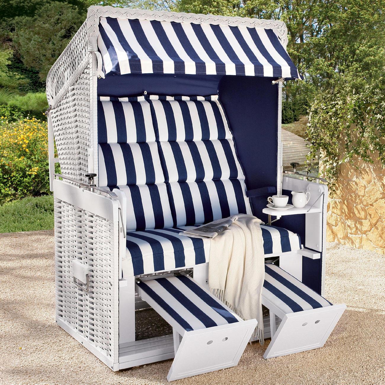 alu strandkorb mit polsterauflage mit 3 jahren garantie. Black Bedroom Furniture Sets. Home Design Ideas