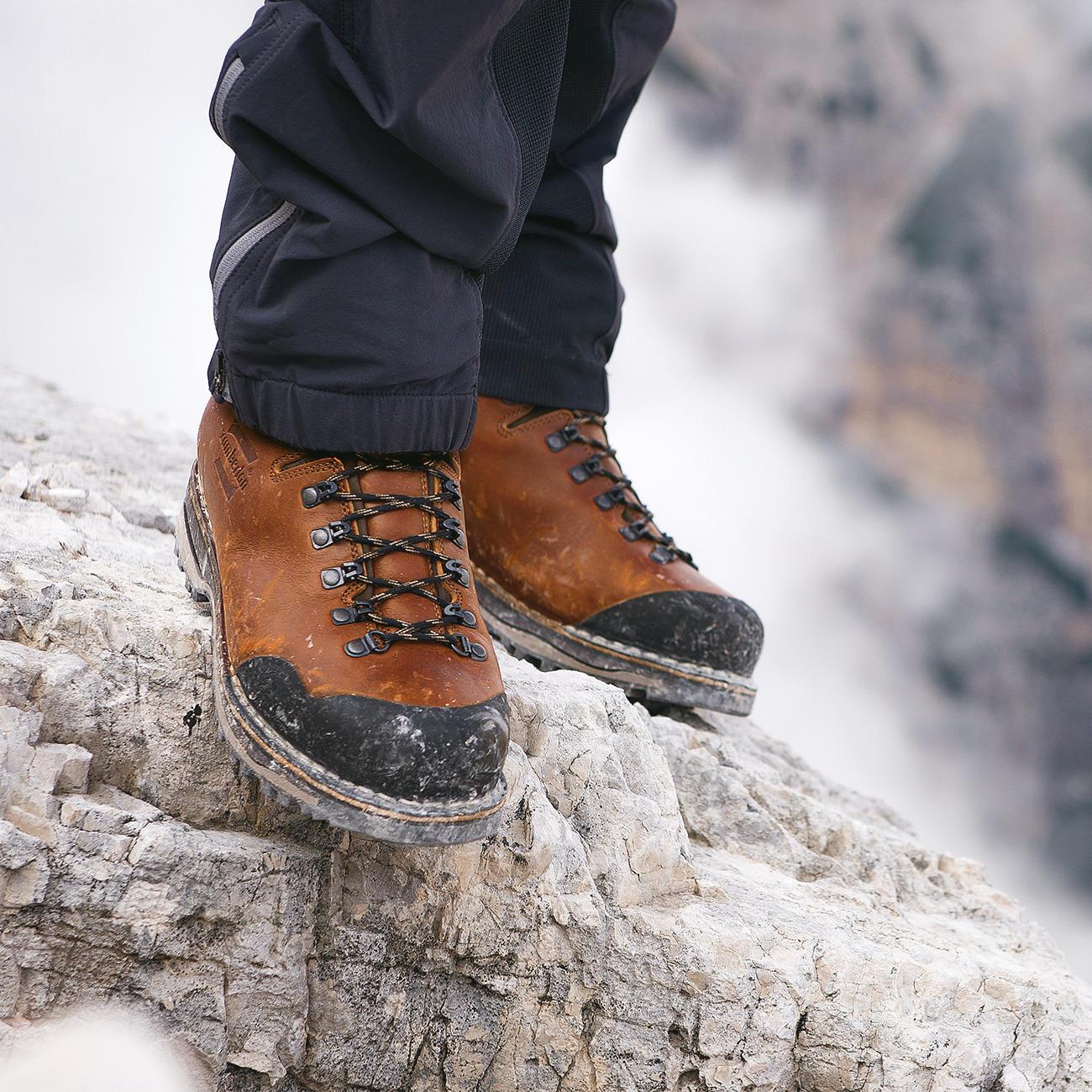 Chaussures de randonnée faites main Zamberlan®, 41,5 - Cognac