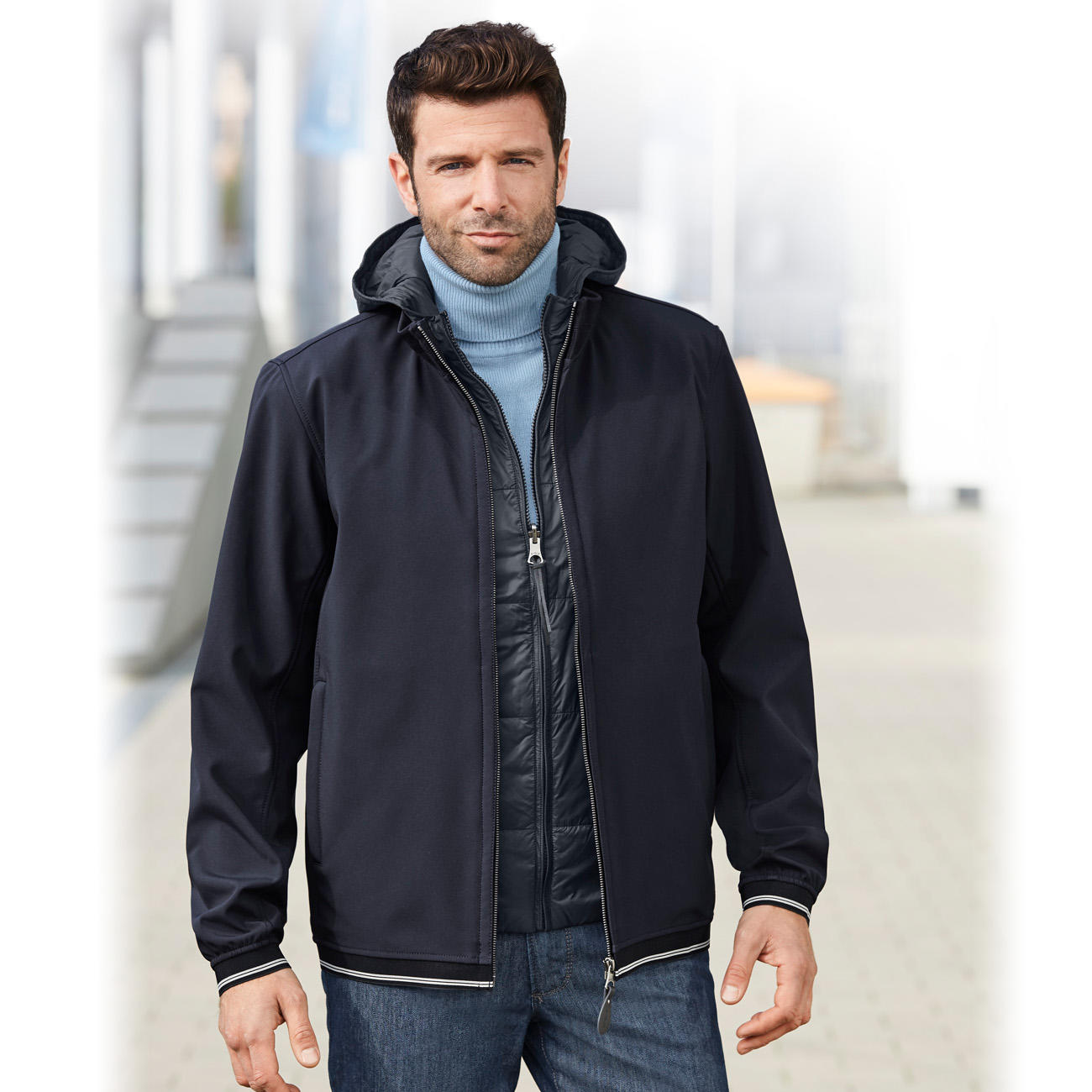 aigle 3 in 1 herren allwetterjacke online kaufen. Black Bedroom Furniture Sets. Home Design Ideas