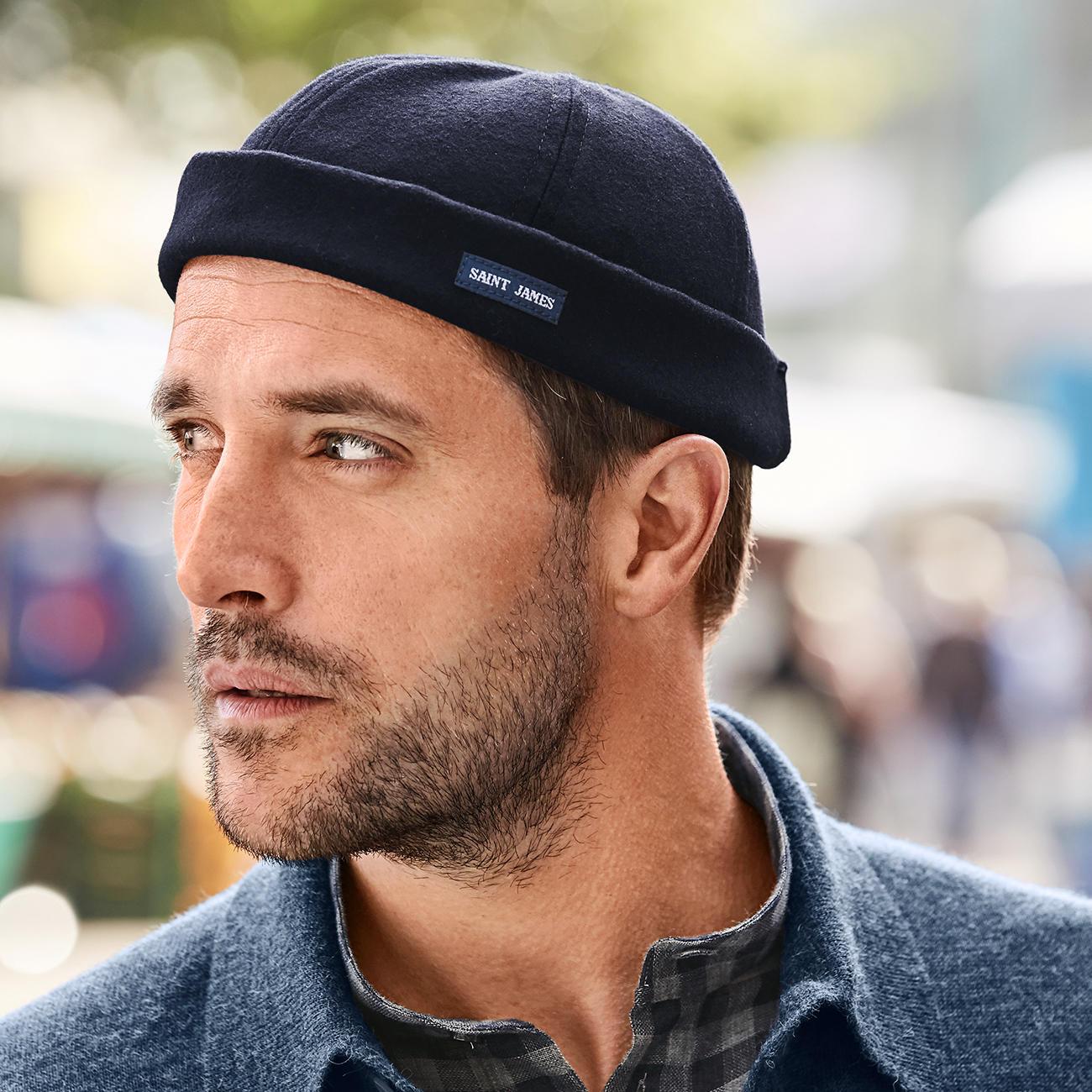 27ce3fd544 ... Saint James - En vogue : le bonnet de docker. Modèle original.  Complé-ment