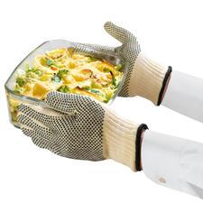 Hitzeschutz-Handschuhe, 2 Stück - Aus dem hitzebeständigen Material der Rennfahrerkombis.