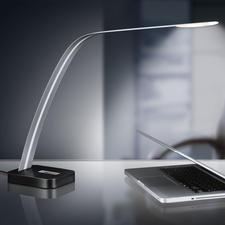 Lita Design LED-Tischleuchte - Extrem schlankes Design. Neutralweisses Licht. Ideal zum Lesen und Arbeiten.