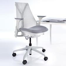 Bürostuhl SAYL - Der Stuhl für nahezu grenzenlose Bewegungsfreiheit und optimale Körperhaltung. Von Herman Miller, USA.