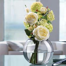 Der Passring mit 6 cm Ø Öffnung ist auch genau richtig für duftige Rosenbouquets, romantische Biedermeiersträusse, …