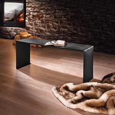 Wärmebank - Elegante Sitzbank für drinnen und draussen. Auf Wunsch sogar beheizt.