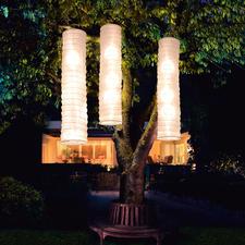 Solar-Lichtsäule, 3er-Set - Verzaubern Ihren Garten. Ohne Stromanschluss. Ohne Kerzen. Nur mit Sonnenenergie.