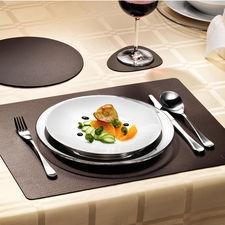 glassMat 4er-Set, hotMat oder tableMat 2er-Set - Elegant wie Leder aus einem Stück. Aber viel strapazierfähiger und pflegeleichter.