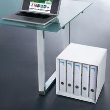 Designer-Kubus - Stellen. Stapeln. Kombinieren. Diese genialen Metallwürfel sind Regal, Tisch, Raumteiler, Wohnobjekt, ...