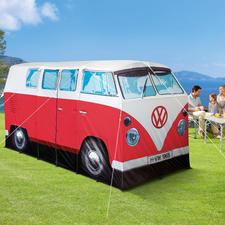 Campingzelt VW Bulli, Rot/Weiss
