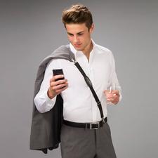 Praktischer - und stylischer - können Sie Jacke, Sakko oder Pullover kaum tragen.