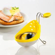 Eier-Pochierer, 2er-Set - Einfach wie nie: Pochierte Eier, perfekt gelungen. Höhenverstellbar, je nach Topfgrösse und Wasserstand.