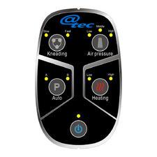 Alle Funktionen steuern Sie über nur 4 Tasten (+ Power): Tiefenmassage, Luftmassage, Automatik und Wärme.