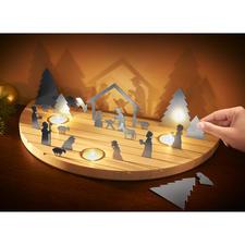 Weihnachtskrippe Silhouette - Die klassisch schöne Weihnachtskrippe – aussergewöhnlich als modernes Schattenspiel.