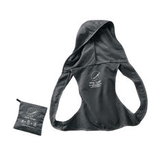"""Einfach praktisch: die """"Regenweste"""" im Taschenformat."""