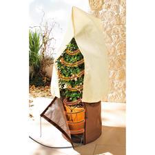 Ruck-zuck-Winterschutz - Aus isolierendem Micro-Vlies. 3fach geschützt kommen Ihre Kübelpflanzen gut durch den Winter.