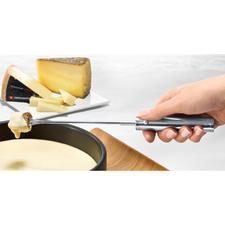 Elektrische Fonduegabel KäseRolli®, 4er-Set - Käse- und Schoko-Fondue  - aber ohne Kleckern. Drehen  sich auf Knopfdruck – und schaffen das Nachtropfen ab.