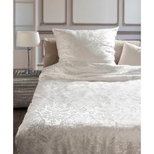 Bettwäsche aus Seide, 2-tlg. - Verwöhnender Luxus: Bettwäsche aus kostbarem, rein seidenem Jacquard.