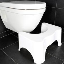 Toilettenhocker Hoca - Hocken statt sitzen: Hoca gibt Ihnen auf dem WC die optimale, natürliche Haltung.