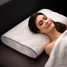 Kopfkissen Dreamolino - Endlich ein Kopfkissen, das sich exakt Ihrem Körper, Ihrer Schlafgewohnheit anpasst.