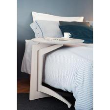 """Beistelltisch """"Paolo"""" - Beistelltisch, Ablage, Bett-Tablett, ... In Italien handgefertigt. Aus edlem Birkenholz – schön stabil, mobil und vielseitig."""