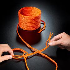 RunLock® Schlaufenseil - Geniales Schlaufenseil macht Knoten überflüssig. Einfach schlingen – hält bombenfest.