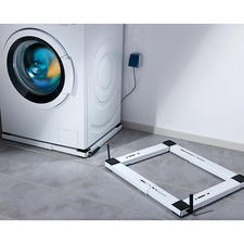 Grossgeräte-Roller - Schwere Haushaltsgeräte ganz leicht rollen. Durch flache Bauweise besonders kippsicher. 300 kg Tragkraft.