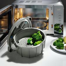 Mikrowellen-Schnellkochtopf - Frische, gesunde Speisen – schnell und einfach wie nie.