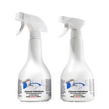 Spray'n go Schimmelentferner, 2er-Set - Der bessere Schimmelvernichter: haftet selbst an senkrechten Flächen – statt uneffektiv abzulaufen.