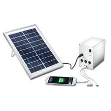 Portables Solar Licht- und Ladesystem - Im Urwald, auf dem Meer, beim Campen, ... Ihre mobile Solarstation liefert Strom und Licht.