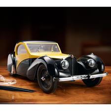 Bugatti Atalante Type 57SC Modell 1:12 - Modellauto des Jahres 2015, limitiert auf 500 Stück. Schwere, detailgetreue Ausführung aus der renommierten deutschen Werkstätte Heinrich Bauer.