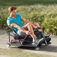 CrazyCart XL - Heisse Drifts und spektakuläre 360°-Drehungen in voller Fahrt. Mit dem sensationellen CrazyCart.