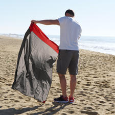 Ob Am Strand oder in den Bergen, bei nassem oder sonnigem Wetter: Diese Decke ist der perfekte Ausflugsbegleiter.