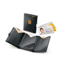 Exentri® RFID Smart Wallet - Das Karten-Etui mit 2fach-Schnellzugriff. Ohne Öffnen, die beiden meist genutzten Karten direkt zur Hand.