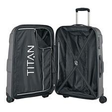 Dank intelligenter Aufteilung bleibt viel Platz für Ihr Gepäck.