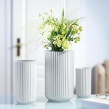 Lyngby Porzellanvase - Weiss, schlicht, schön: die Lyngby-Vase der 30er-Jahre – jetzt neu aufgelegt.
