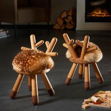 Bambi Chair - Bezaubernd für Gross und Klein: der aussergewöhnliche Hocker im Bambi-Style.