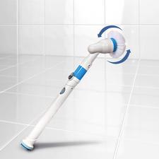 Hurricane® Spin Scrubber - Ruck-zuck: strahlender Glanz und hygienische Sauberkeit. Ohne Schrubben. Ohne Bücken.