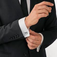 FaltBar Manschettenknöpfe - Ein kurzer Dreh – schon wird aus dem smarten Riegel ein markanter Manschettenknopf.