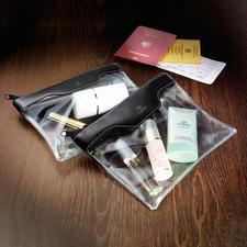 Handgepäck-Kosmetiktasche, 2er-Set - Ideal als Handgepäck, für Kosmetik, Pflegeartikel, …