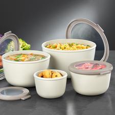 Multi-Schüssel, 4er-Set - Die Multi-Schüssel zum Zubereiten, Servieren, Aufbewahren, Einfrieren, Erhitzen und Transportieren.